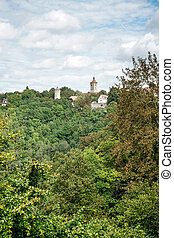 View from the City of Rothenburg