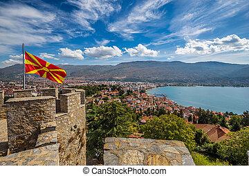 The Fortress Of Tsar Samuel - Ohrid, Macedonia