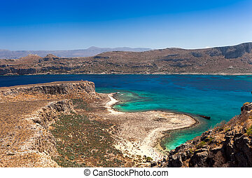 View from the island of Gramvousa