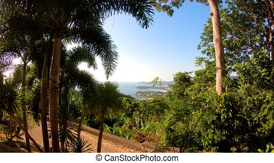 View from the Karon Viewpoint in Phuket island.