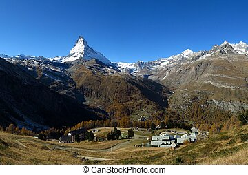 View from the Riffelalp