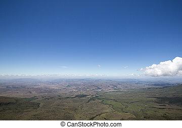 View from the Roraima tepui on Kukenan, Venezuela