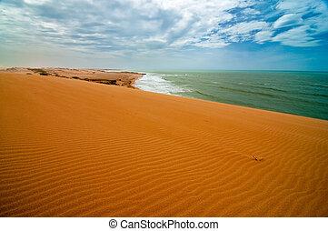View from the Taroa Sand Dune