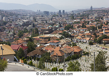 View from the top of Sarajevo