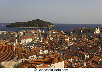walls of Dubrovnik old town