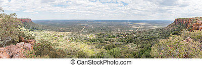 View from the top of the Waterberg Plateau near Otjiwarongo