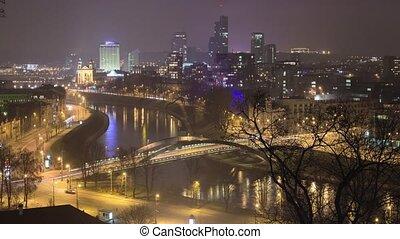 Vilnius, Lithuania, timelapse