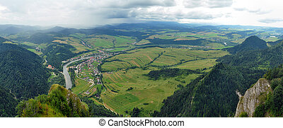 view from Three Crowns - panorama photo taken from famous...