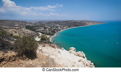 View from top of a hill, Cyprus