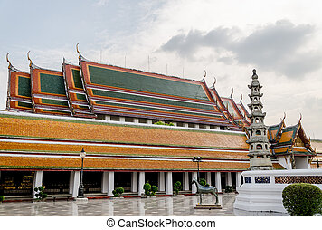 View images of Thai temple