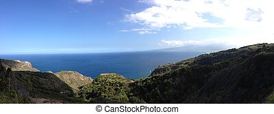 View in Molokai, Hawaii