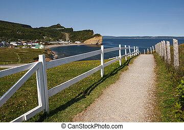 View in Perce Quebec