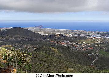 view in Tenerife island