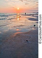 View of a Beach, Panama city Florida