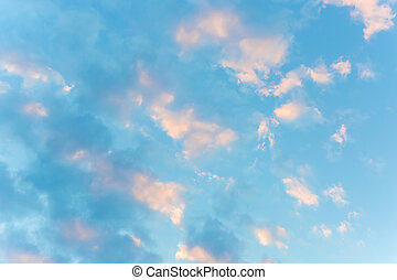 View of a blue sky