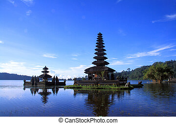 View of a lake at Bali