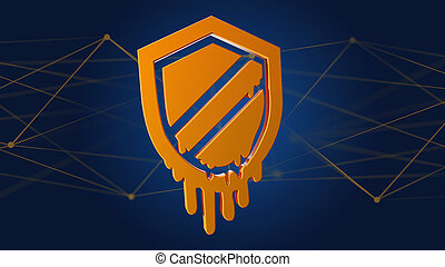 Meltdown processor attack with network connection - 3d ...
