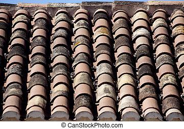 tile rooftop