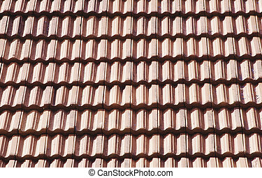 view of a roof