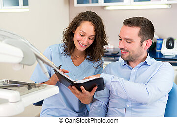 Young attractive dentist programs next date