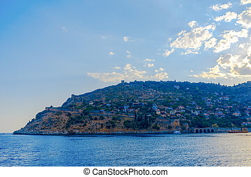 View of Alanya peninsula