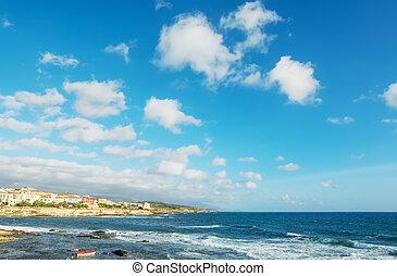 Alghero coastline
