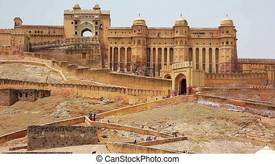 View of Amber Fort