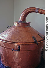 alembic - view of an old alembic