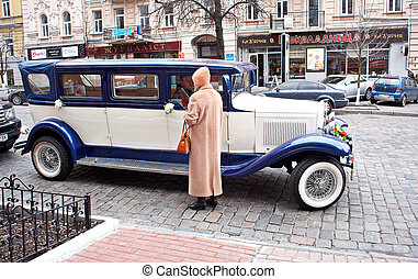 Old elegant car