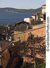 view of Anguillara town