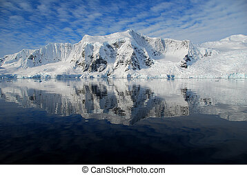 view of antarctic peninsula