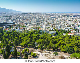 View of Athens