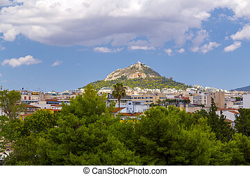 View of Athens, the capital of Greece. Athens has...