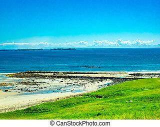 View of Atlantic Ocean and the beach