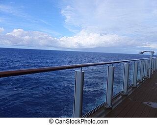 View of Atlantic Ocean