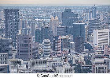 View of Bangkok City Thailand