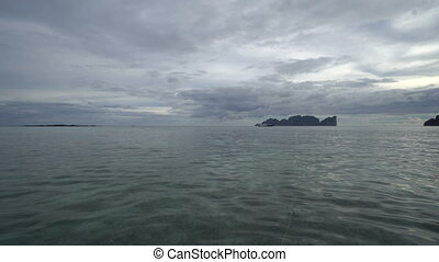 View of beautiful Koh Phi Phi island from Phi Phi, Krabi...