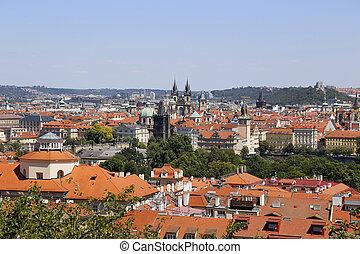 View of beautiful Prague, Czech Republic