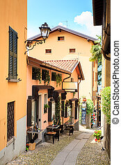 View of Bellagio alley