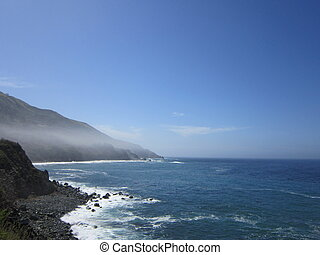 View of Big Sur