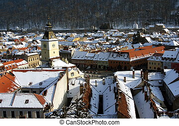 View of Brasov, Romania