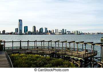 View of Brooklyn from Battery Park
