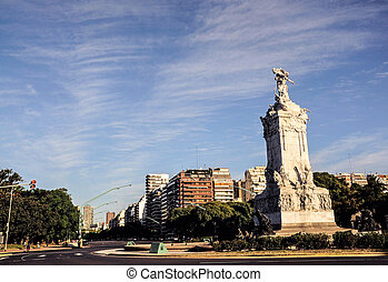 buenos aires, Argentina - view of buenos aires, Argentina