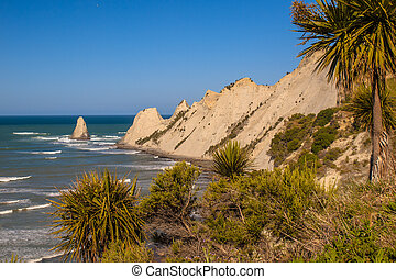 View of Cape Kidnappers New Zealand - View of Cape ...