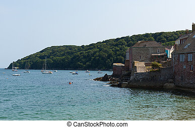 Cawsand and Kingsand coast Cornwall