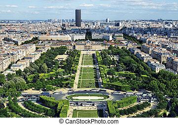 View of Champ de Mars, Paris - Fran