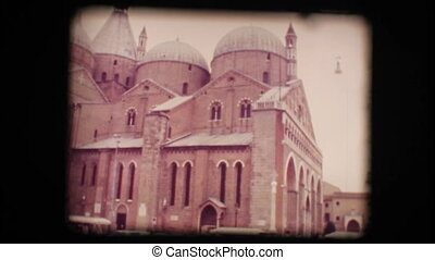 View of church in Padova