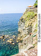 View of Cinque Terre, Italy