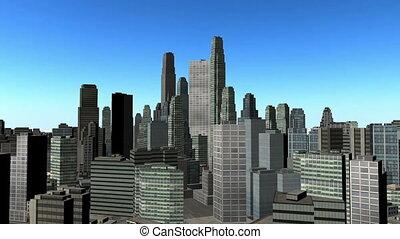 cityscape - view of cityscape