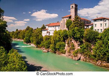 view of cividale del friuli - view of Cividale del Friuli...